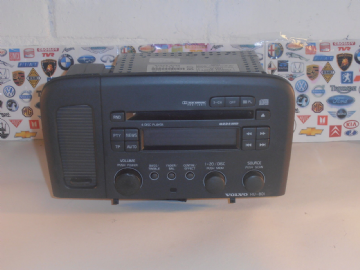 VOLVO S80 MODEL FROM 98 TO 05 CD PLAYER DISC RADIO STEREO 801 WITH SECURITY CODE